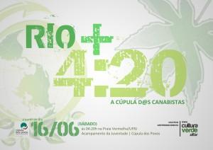 Rio+4:20 / Cúpula dos Canabistas