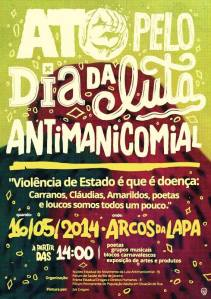 cartaz antimanicomial