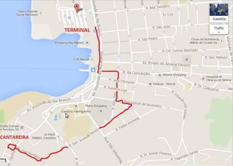 mapa marcha niterói 2015