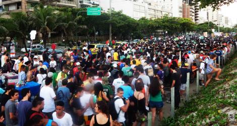 A Marcha da Maconha sai tradicionalmente às 16:20h. | Foto: Cultura Verde